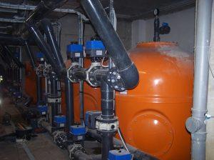 Technológia úpravne bazénovej vody